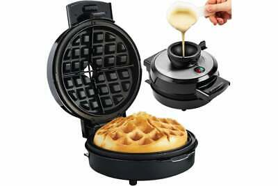 Volcano Waffle Maker with Non-Stick Round Plates700wAndrew James