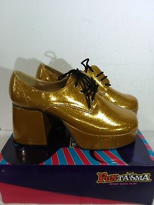 b463b82e3c FUNTASMA MEN'S DISCO Jazz 02 Pearlized Gold Size L M - $36.25 | PicClick