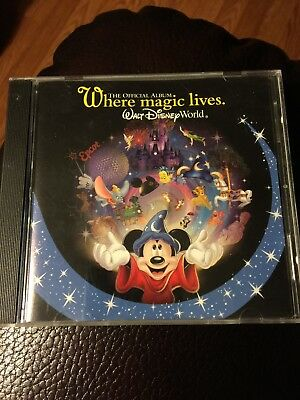 Walt Disney World Where Magic Lives Theme Park Souvenir Official Album 2003 Cd