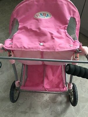Baby Born Double Dolls Buggy /pushchair
