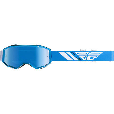 82b1cd958cad NEW Fly Racing MX Zone Blue Tinted Kids Motocross Dirt Bike Off Road Goggles