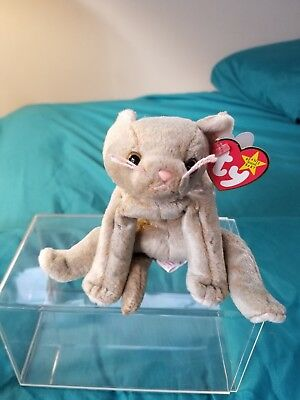 TY Beanie Baby - Scat Cat with errors
