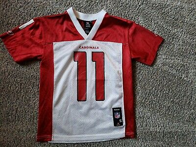 a68e5c56a Reebok NFL Youth Jersey Arizona Cardinals Larry Fitzgerald Size Small (8)  Red