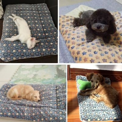 Pet Dog Warm Nest Thick Coral Flannel Mats Dog Cat Bed Pad Sleeping Blanket New