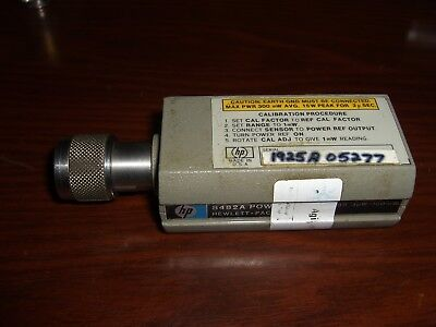 HP / Agilent 8482A Power Sensor **TESTED**100kHz 4.2GHz 1uW 100mW (-30dBm 20dBm)