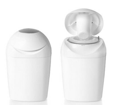 *Tommee Tippee Sangenic Nappy Disposal Unit & With One Refill Cassette