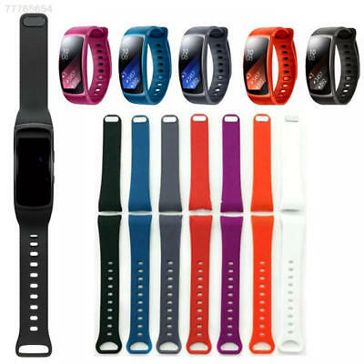 Luxury Silicone Watch Band Replacement Band Strap For Samsung Gear Fit 2 SM-R360