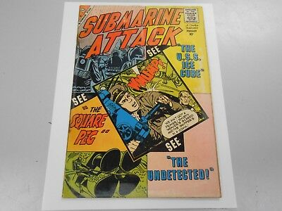 Submarine Attack #20 ( February 1960 Charlton) GD 2.0 Silver Age War Comic