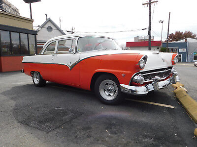1955 Ford Fairlane Club Sedan; 351 cu. in. Windsor Power Brakes, C-4 Automatic, NEW suspension, GREAT FOR CRUISING; VG Cond.(video)