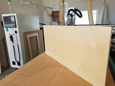 Birch Plywood Kitchen Furniture Cabinetry Doors Cut to Sizes
