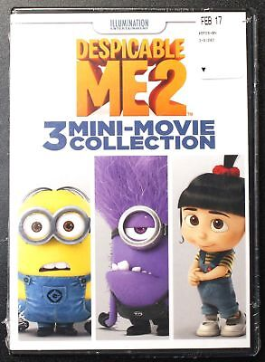 Despicable Me2 - 3 Mini-Movie Collection ~ Brand New Sealed ~