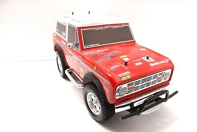 Tamiya Ford Bronco CC-01 Custom Aluminium Side Steps