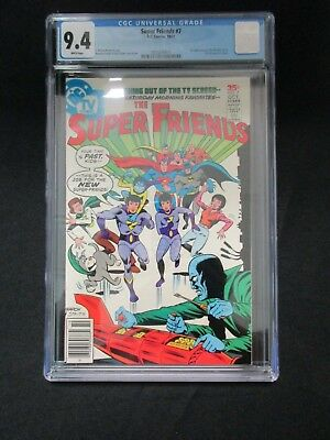 Super Friends # 7 * Cgc 9.4 * 1St Wonder Twins * Ramona Fradon Art