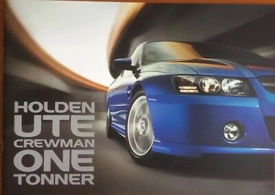 Holden Commodore VZ Ute Crewman One Tonner Brochure  32 Pages