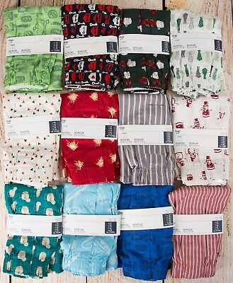 NIP Mens GAP Boxers 100% Cotton Choose Size and Pattern - Lot 10A