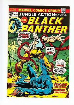 Jungle Action #7 Black Panther Marvel 1973 VF / NM 9.0 High grade beauty