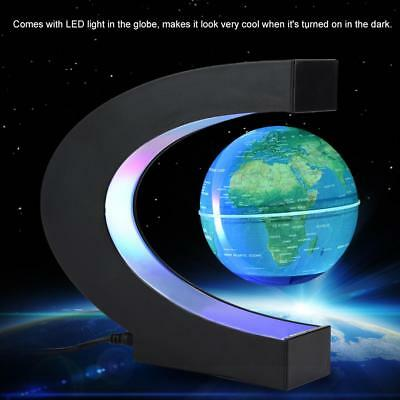 Magnetic Floating Globe LED Light Anti-gravity Levitating Rotating World Map