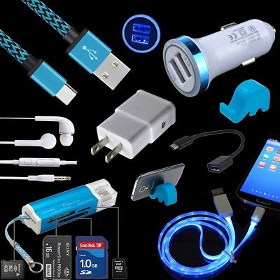Car Home Wall Charging Adapter Cable OTG Data for Samsung Galaxy Note 8 9 S9 S8+