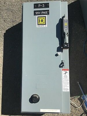 Combination starter size 0  30 amp Square D
