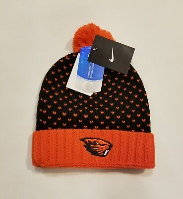 Nike Oregon State Beavers Knit Beanie Hat OSU Genuine College Product! MSRP $30