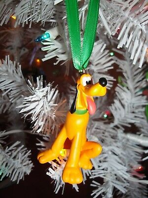 Disney Mickey Mouse Clubhouse Custom Made Pluto Pvc Christmas Ornament