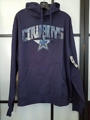 ... buy mens nfl dallas cowboys navy pullover hoodie size large 6ec99 500ce  ... 82bbecd01