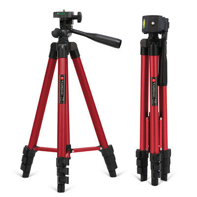 Pro Lightweight Portable Travel Tripod for Fishing Light Cellphone Tairoad 50""