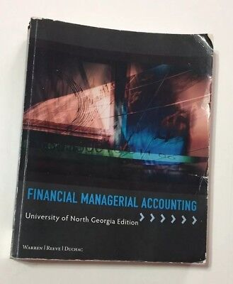 Financial Managerial Accounting UNG Warren Reeve Duchac