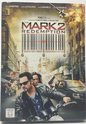 The Mark 2: Redemption (DVD, 2013) Slip case