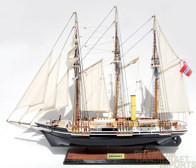 Endurance Antarctic Expedition Model Ship by Sir Ernest Shackle Display Ready