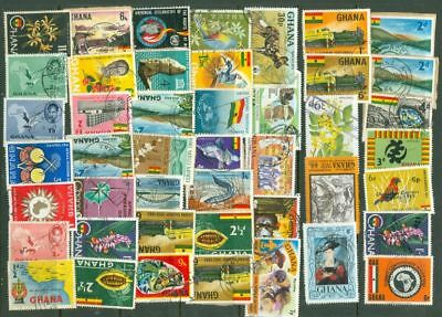 Ghana Mixed Group of 150 used stamp Lot#6019