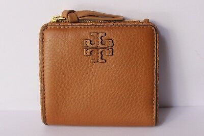 c4959ec1f0d8 Tory Burch Taylor Mini Wallet Saddle        FREE INTERNATIONAL SHIPPING