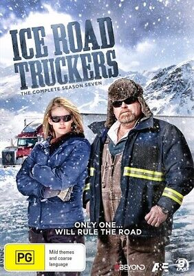 Ice Road Truckers - Season 7 (Dvd, 2015) [Brand New & Sealed]
