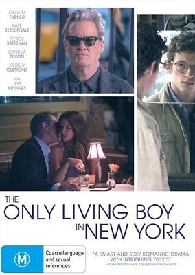 The Only Living Boy In New York (Dvd, 2018) [Brand New & Sealed]