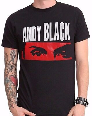 Andy Black Red Eyes Black T-Shirt Extra Large New with Tags