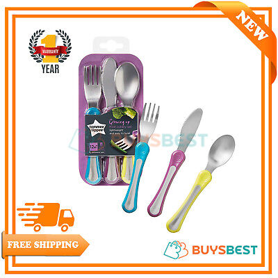 Tommee Tippee Explora First Grown Up Cutlery Set (Variable Colours) - 446608