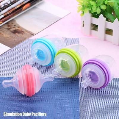 Silicone Pacifier Kids Feeding Soother Nipple Feeder Teat Pacifier Bottles