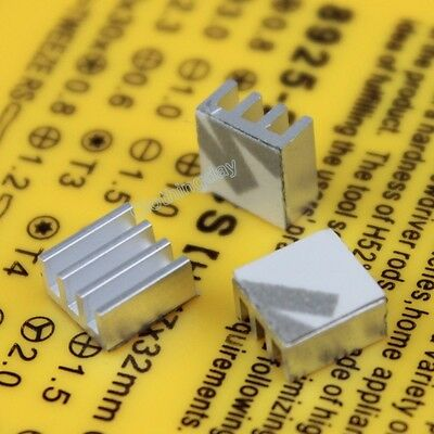 1000pcs 7mm 7x7x3.5mm Heatsink with Tape For Motherboard DDR RAM Memory Chipset