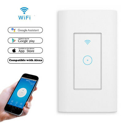 Smart WiFi Light Switch in Wall WiFi APP Control Work with Alexa and Google Home