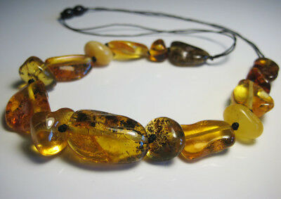 Genuine  Beautiful Baltic Amber Necklace 20 g !