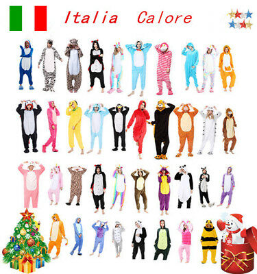 Animal Pigiama kigurumi costume Onesie Unicorn carnevale adulti cosplay animali