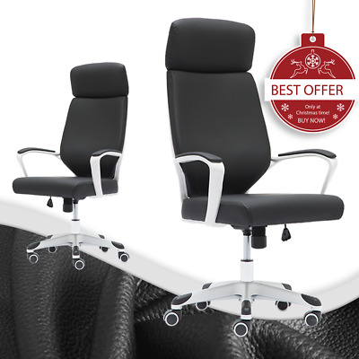 Fashion Home Office Chair Executive Computer Lift Swivel High Back Pu Leather