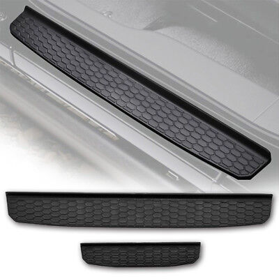 4Pcs Black Car Door sill scuff plate step Guards Sills For 2007-2018 Wrangler JK