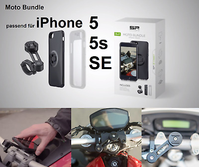 SP CONNECT Motorrad Smartphone Halterung MOTO BUNDLE Apple iPhone 5,5S,/SE