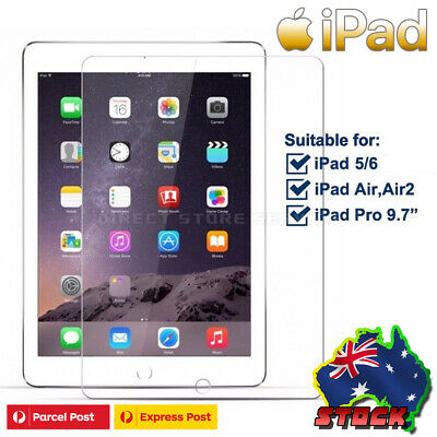 NUGLAS Film Screen Protector for iPad 2 3 4 5 6 Air Mini Pro 9.7 Au Stock FREE