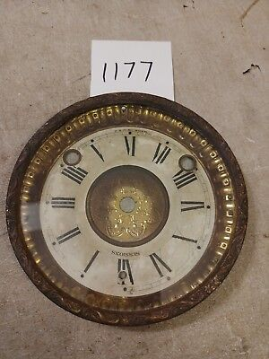 Sessions Mantle Clock Dial & Bezel With Glass