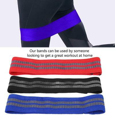 Hip Circle Glute Resistance Band Premium Elastic Fabric for Training Thighs Legs
