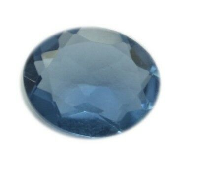 magnificent Tanzanite Cubic Zirconia Faceted Oval 12x14 mm 1-PC Gemstones US