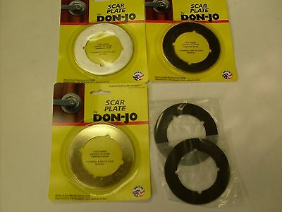 Don-Jo SP135 scar plates for door repair -Lot of 2 various finishes