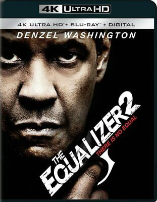 The Equalizer 2 Blu-Ray Disk ONLY